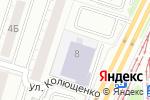Схема проезда до компании Cybercity в Челябинске