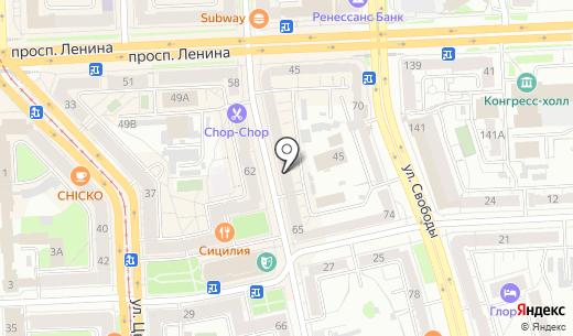Gerry Weber. Схема проезда в Челябинске