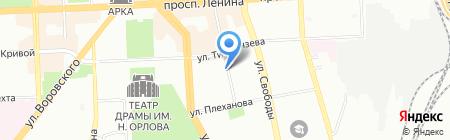 СД на карте Челябинска