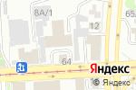 Схема проезда до компании Визуальный Проект в Челябинске