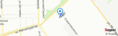 КАМАЗ ЦЕНТР на карте Челябинска