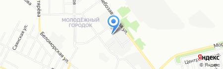 ГласСтрой на карте Челябинска