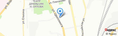 ВЕСКОМ на карте Челябинска