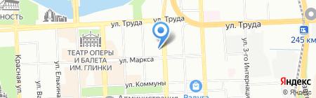 Банкомат Газпромбанк на карте Челябинска