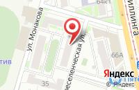 Схема проезда до компании Визави в Челябинске