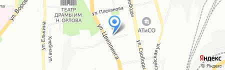МаКи на карте Челябинска