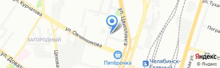 ВРК-3 на карте Челябинска