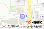 Схема проезда до компании Кунжут в Челябинске