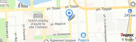 Ультра на карте Челябинска