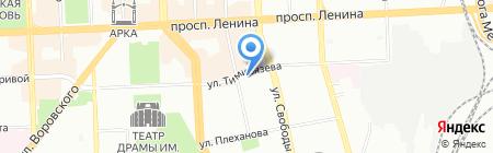 РозаМира.ком на карте Челябинска