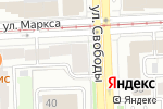 Схема проезда до компании The Rules в Челябинске