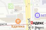 Схема проезда до компании Контур в Челябинске