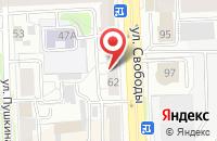 Схема проезда до компании Ареал в Челябинске