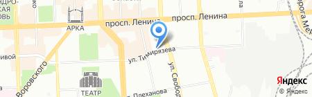 Мировые судьи Советского района на карте Челябинска