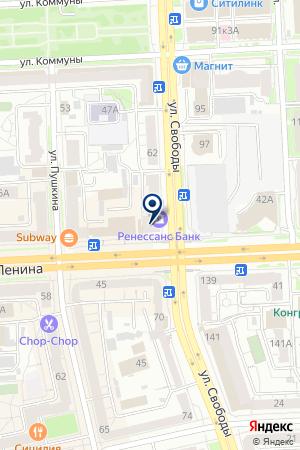 ОБЛАСТНОЙ ЦЕНТР НАРОДНОГО ТВОРЧЕСТВА на карте Челябинска