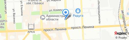 Зодчий 74 на карте Челябинска