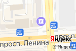 Схема проезда до компании РОСТ БАНК в Челябинске