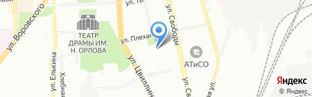 Средняя общеобразовательная школа на карте Челябинска