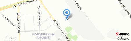 УЗП на карте Челябинска