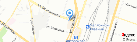 Ювелирная мастерская на ул. Овчинникова на карте Челябинска