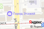 Схема проезда до компании БАЭР-Авто в Челябинске