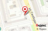 Схема проезда до компании Уральский Экскаваторный Завод «Уралэкс» в Челябинске