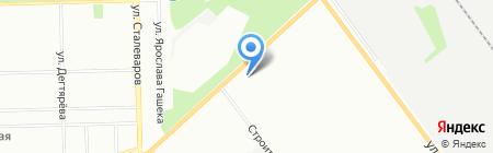 Инвест-Пром на карте Челябинска