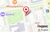 Схема проезда до компании Проминвест в Челябинске