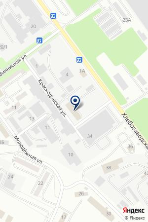 Специальный дом-интернат для престарелых и инвалидов на карте Челябинска