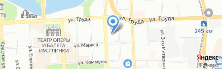 Детский сад №97 на карте Челябинска