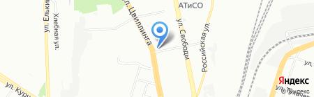 ТрансКонтейнер на карте Челябинска