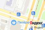 Схема проезда до компании Александрит в Челябинске