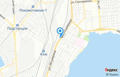 Местоположение на карте пункта техосмотра по адресу г Челябинск, ул Игуменка