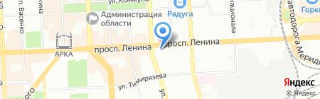 Гран на карте Челябинска