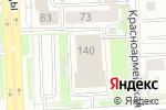 Схема проезда до компании Федерация баскетбола среди инвалидов по слуху в Челябинске