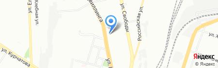 Минимаг на карте Челябинска
