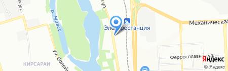 Академия уюта на карте Челябинска
