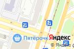 Схема проезда до компании Автошкола №1 в Челябинске