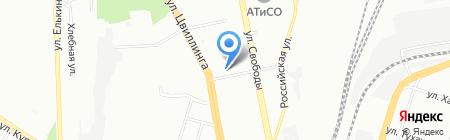 TourPay на карте Челябинска