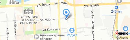 БанкоматТорговый городской банк на карте Челябинска