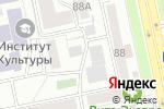 Схема проезда до компании Созвездие в Челябинске