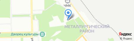 СПЕКТР на карте Челябинска