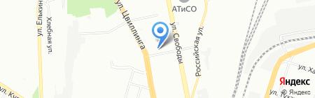 Картель на карте Челябинска