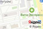 Схема проезда до компании У клена в Челябинске