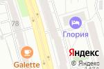 Схема проезда до компании M-Store в Челябинске