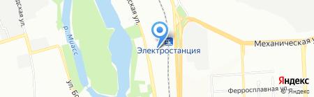 Уралпродукт на карте Челябинска