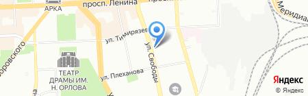 Bellino на карте Челябинска