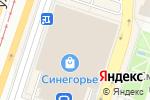 Схема проезда до компании Butterfly в Челябинске