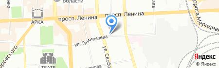 Мой бассейн на карте Челябинска