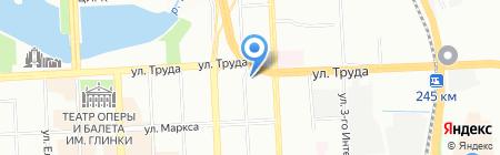 5 колесо на карте Челябинска